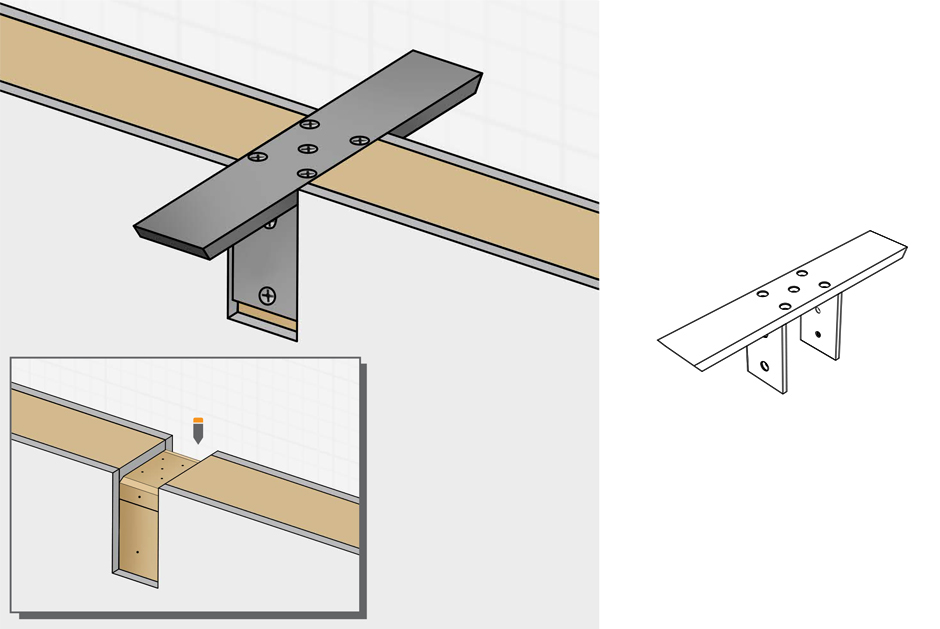Installation Guide For Center Levered Bracket