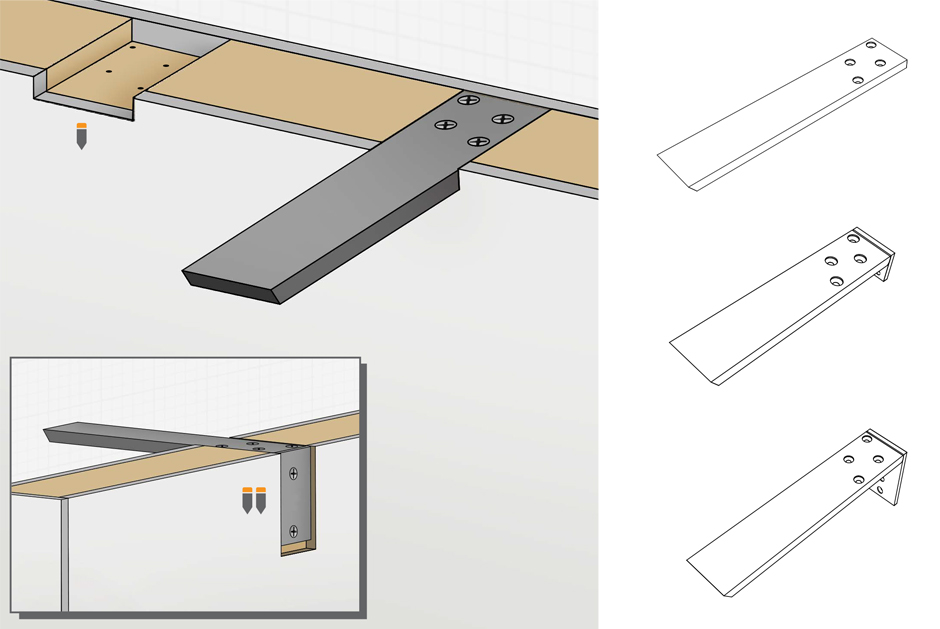 Installation Guide For Standard, Standard Plus, & Forward L Brackets